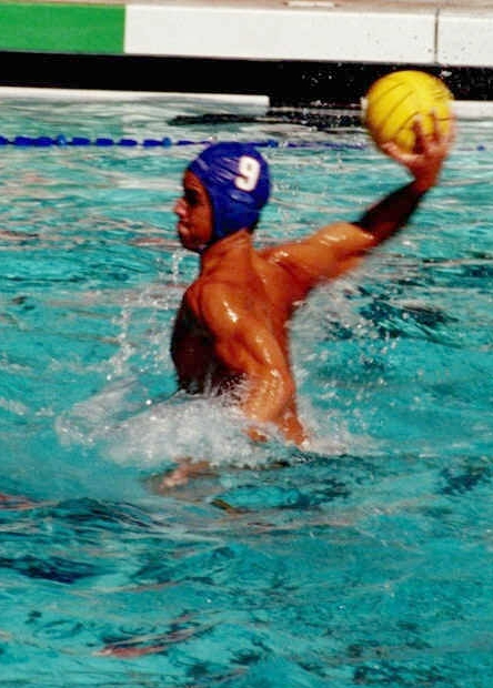 A Triton attempt: UCSD junior Clark Petersen takes a shot