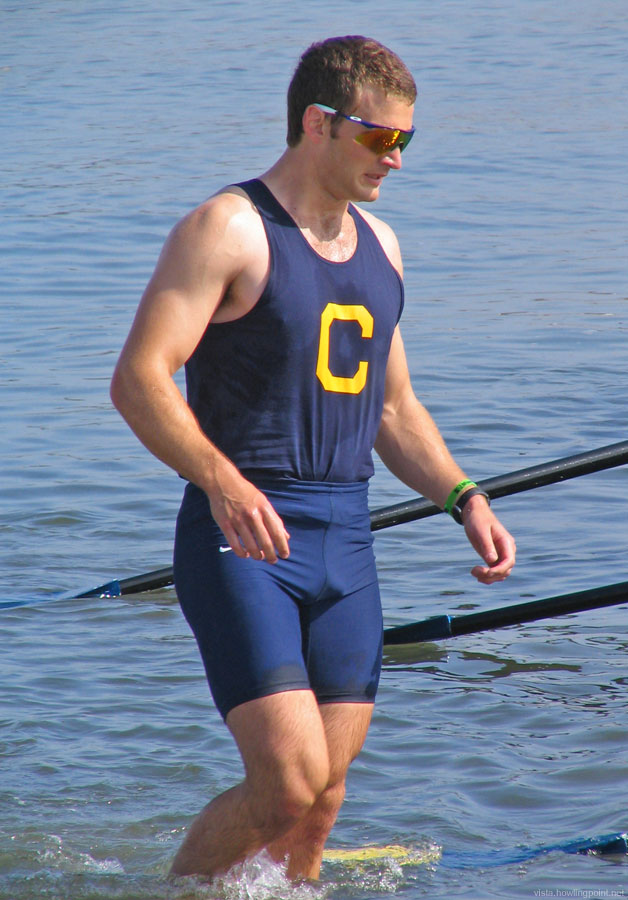 Novice Rower After Race: