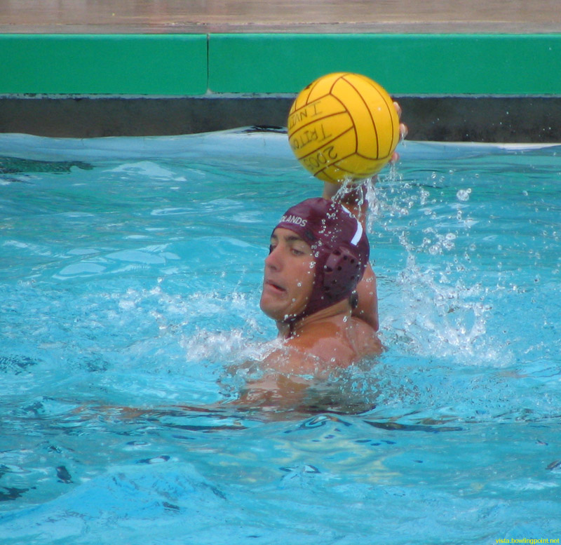 Take the shot: Redlands Bulldog junior A.J. Ferrill takes a shot in their game against Whittier.