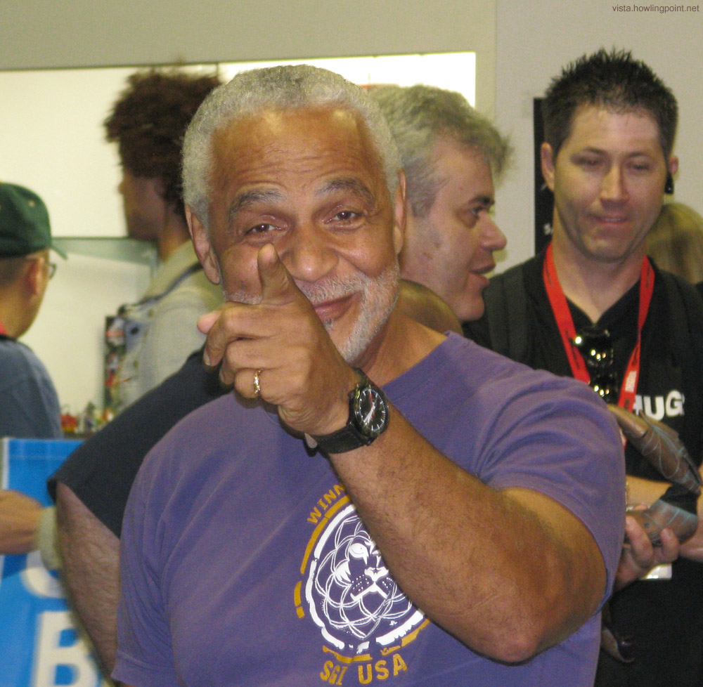 Ron Glass: Star of lots of things, notably for these purposes of Firefly and Serenity.