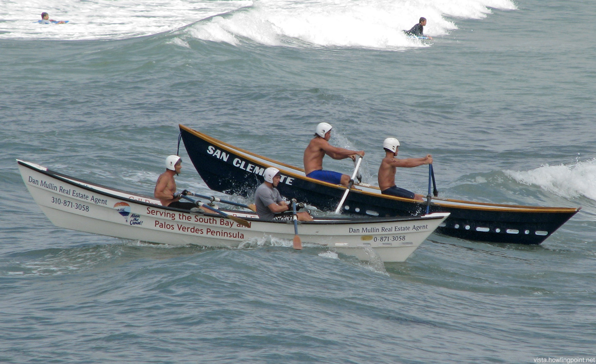 Racing at San Clemente Ocean Festival
