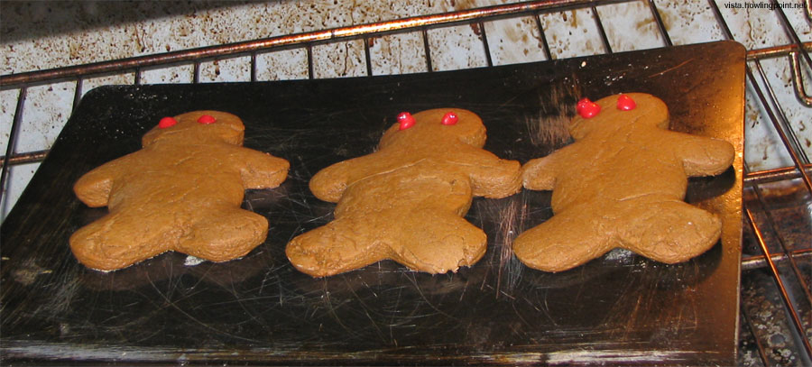 California Gingerbreadmen: