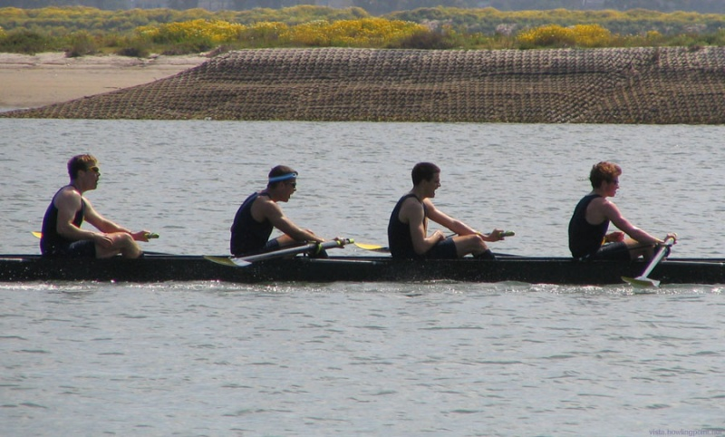 Cal Men's Novice A boat