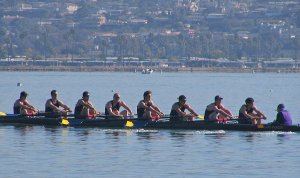 Cal Mens Novice crew