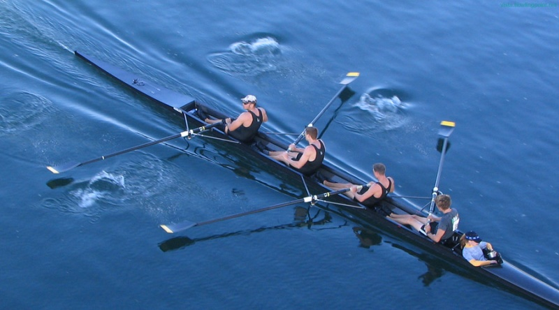 Four Men with Coxswain