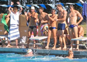UCSD-Air Force Swim Meet - January 2006