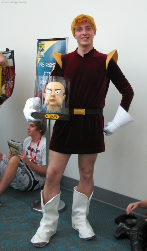 Captain Zapp Brannigan and Nixon's Head