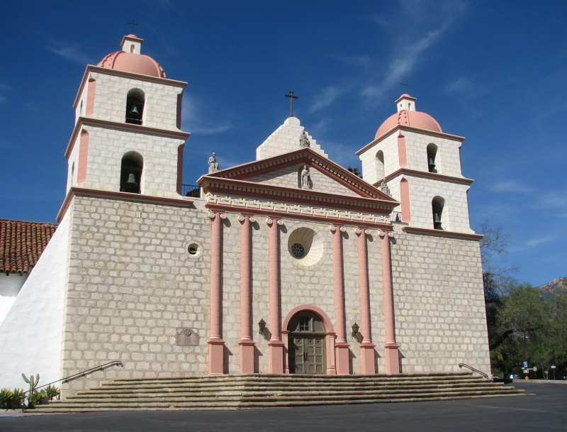 Twin bell towers