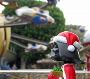 Darth Santa does Disney